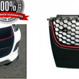 Grila fagure  VW GOLF 5 GTI fara emblema  - negru / rosu