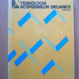 E0a Tehnologia acoperirilor organice - A. Blaga, C.Robu