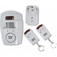 Sisteme de alarma - Alarma wireless, cu senzor de miscare si 2 telecomenzi