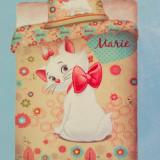 Lenjerie de pat - Lenjerie Disney Marie Cat Yellow
