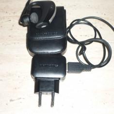 Casca Bluetooth Plantronics Voyager Pro+ - Casti Telefon, Negru, Pe ureche
