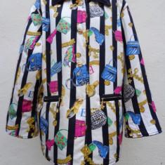 Jacheta din matase ESCADA Couture 100%originala - Jacheta dama Escada, Marime: L/XL, Culoare: Multicolor