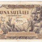 Bancnota 100 lei 5 decembrie 1947 (6), An: 1947