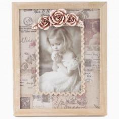 Album foto - Rama foto lemn de birou Love Letter 10x15 cm
