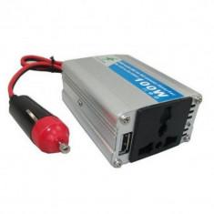 Invertor 12V-220V cu putere 100W - Invertor Auto