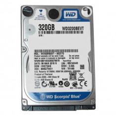 HDD laptop 2, 5'' Western Digital Notebook 320GB + RACK Logilink USB 3.0, Rotatii: 5400, SATA2, 8 MB