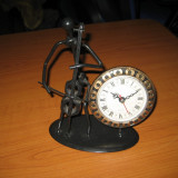 CEAS MUZICIAN CONTRABAS ELECTRONIC SUDURA DEOSEBIT - Ceas de masa