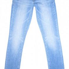 Blugi barbati H&m, Lungi, Prespalat, Skinny, Normal - Blugi Conici H&M - (MARIME: 28 x 32) - Talie = 80 CM, Lungime = 106 CM