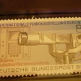GERMANIA (BERLIN) 1985 – CAMERA DE FILMAT , timbru nestampilat GD52