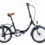 Bicicleta pliabile - Bicicleta pliabila Leader Fox Cityzoom 2016