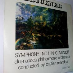 Muzica Clasica electrecord, VINIL - Disc vinil / vinyl -BRUCKNER Symphony no. 1 in c minor - Electrecord