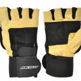Manusi Fitness, Axer, Velcro-Galben-XL