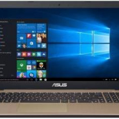 Notebook Asus Laptop Asus X540SA, Quad Core, N3700, 500GB, 4GB, DVDRW, HD, Gold