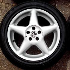 JANTE DEZENT 16 5X100 VW GOLF4 BORA POLO SKODA SEAT - Janta aliaj, Numar prezoane: 5