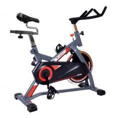 Bicicleta fitness - Bicicleta indoor cycling inSPORTline Jota/argintiu
