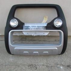 Bullbar auto - Bullbar inox cu proiectoare compatibil ISUZU D-MAX