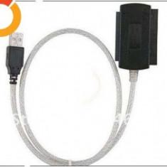 Adaptor interfata PC - Adaptor USB 2.0 la IDE SATA 5.25 S-ATA/2.5/3.5