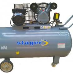 Compresor electric - Compresor de aer 250 litri Stager - HM V 0.25/250