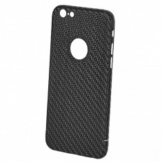 Husa Apple iPhone 6 Nevox CarbonSeries Logo View Blister Originala