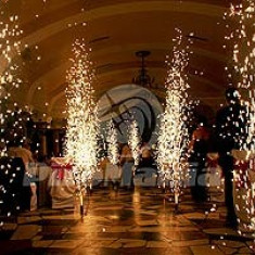 Decoratiuni nunta - Artificii de interior vulcani fara fum fara miros 2 metri Calitate