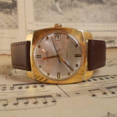 Ceas de mana - Ceas rusesc de colectie WOSTOK, calibru 2214, functional, placat aur 10 microni
