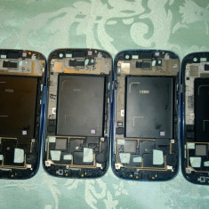 Frame/Rama Lcd originala Smartphone Samsung Galaxy S3 I9300 Blue si Argintiu!