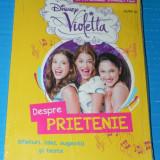 DISNEY VIOLETTA DESPRE PRIETENIE - sfaturile violettei carte serialul (01114