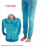 Trening dama Puma, Catifea - TRENINGURI PUMA, MATERIAL CATIFEA,, LIVRARE GRATUITA