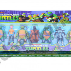 Set 7 testoase ninja - super distractie pentru cei mici ! - Figurina Desene animate