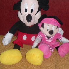 Plus Minnie si Mickey - Perechea vesela Minnie si Mickey Mouse - OKAZIE
