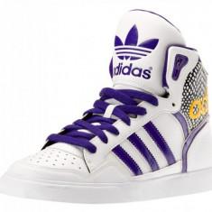 Bascheti originali ADIDAS EXTABALL - Ghete copii Adidas, 38 2/3, 39 1/3, 40, Din imagine