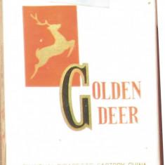 Tigari de colectie - GOLDEN DEER - Pachet sigilat anul - 1985 - Pachet tigari
