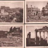Lot 6 ilustrate vechi, Italia, Roma, Fotografie, Europa