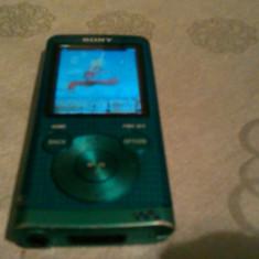 SONY WALKMAN 8 GB MODEL NWZ-E454 PERFECT FUNCTIONAL - MP3 player Sony, Albastru, Display, FM radio