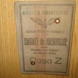 CARNET DE IDENTITATE C.F.R. PENTRU FUNCTIONARI PUBLICI ANUL 1926 - Pasaport/Document