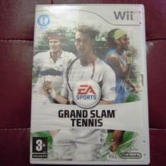Joc Grand Slam Tennis, pentru Wii, original, PAL, alte sute de jocuri! - Jocuri WII Altele, Sporturi, 3+, Multiplayer