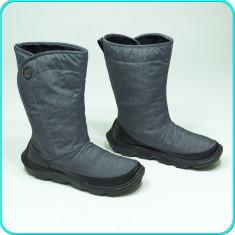 DE FIRMA _ Cizme iarna, calduroase, impermeabile, comode CROCS _ femei | nr 39, 5 - Cizme dama Crocs, Culoare: Gri, Textil