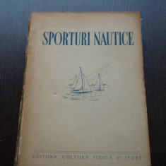 SPORTURI NAUTICE