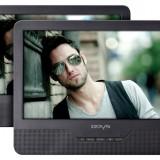 DVD Playere - DVD Player portabil cu ecran dublu ODYS Seal 9 Negru