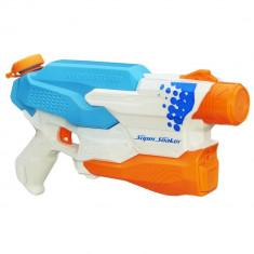 Pistol cu apa Nerf Super Soaker Hydrostorm Blaster Alb - Albastru - Pistol de jucarie