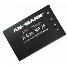 Baterie Aparat foto - Acumulator Ansmann 212506 Casio NP20 Negru
