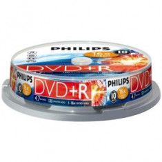 DVD Recordere - Philips DVD+RW 4.7GB (10 buc. Spindle, 4x) PHILIPS