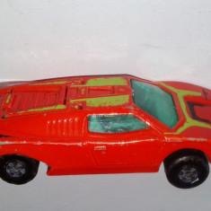Macheta Matchbox Superfast NR. 47 Lamborghini Countach - 1973 - Macheta auto Matchbox, 1:64
