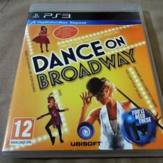 Jocuri PS3 Ubisoft, Simulatoare, 12+, Multiplayer - Joc Dance on Broadway Move, PS3, original, 24.99 lei(gamestore)!