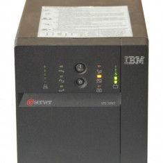 Sursa PC - UPS IBM Smart UPS 1000T, 1000VA, 700W, Tower, Black, 230V, Acumulatori NOI