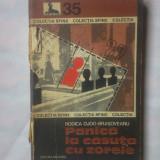 Carte de aventura - RODICA OLOG-BRASOVEANU - PANICA LA CASUTA CU ZORELE