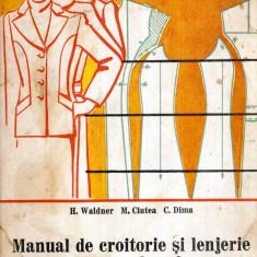 Carti Mecanica - Manual de croitorie si lenjerie pentru femei - pentru scoli profesionale si