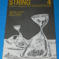 Revista STRING de stiinta prospectiva si SCIENCE FICTION NR 4 asimov (r5025 - Carte SF