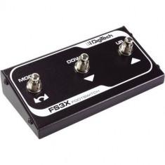 DigiTech FS3X - 3 Button Footswitch - Efect Chitara