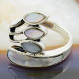 Inel din Argint 925, cu Sidef, cod 887 - Inel argint